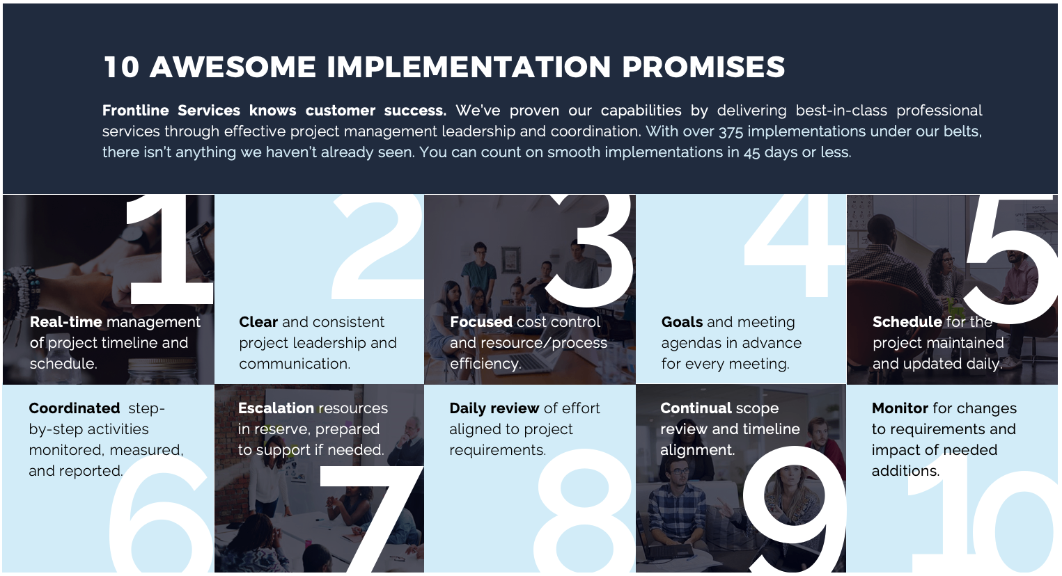 10 awesome implementation promises