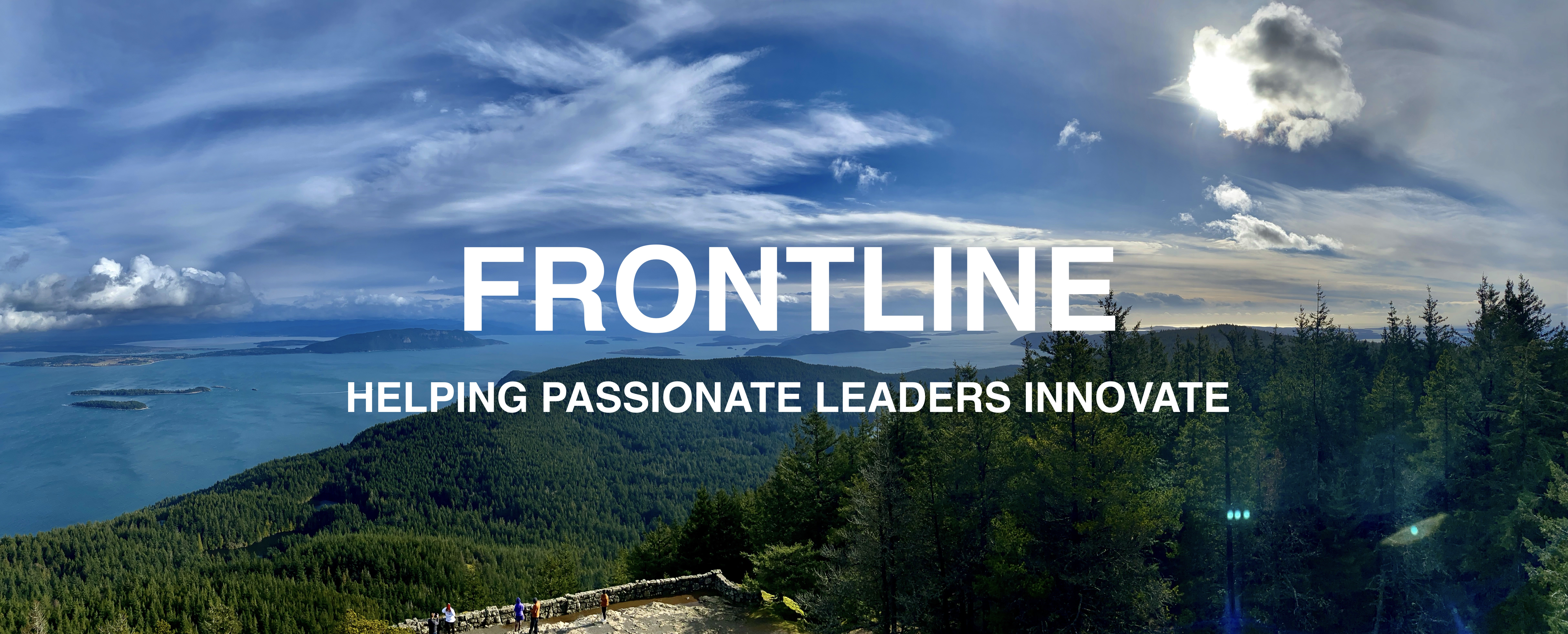 Frontline Group Banner Helping Passionate Leaders Innovate